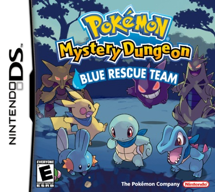 Cover BOX Pokemon Mysterious Dungeon Blue Rescue Team